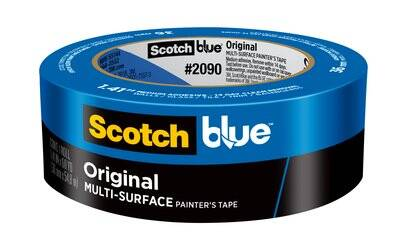 ScotchBlue™ Original Painter's Tape 2090-36AP, 1.41 in x 60 yd (36mm x 54,8m)